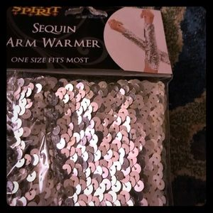 NWT sequin arm warmers